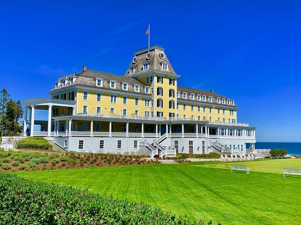 Ocean House reopened in 2010 after the original, built in 1868, was razed in the early 2000s.