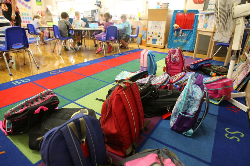 Kindergarten has traditionally been a time for storybooks and building blocks. But in Brookline, teachers and parents say academic demands on students are too high.