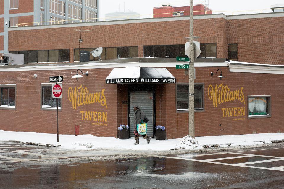 Williams Tavern in Boston.