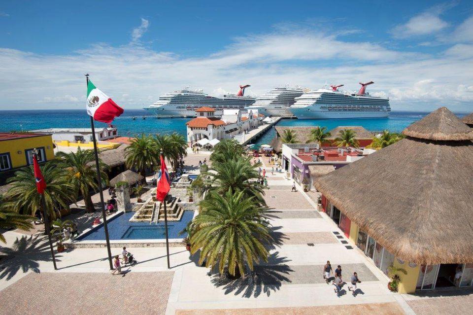 Carnival's Western Caribbean cruises stop in Cozumel.