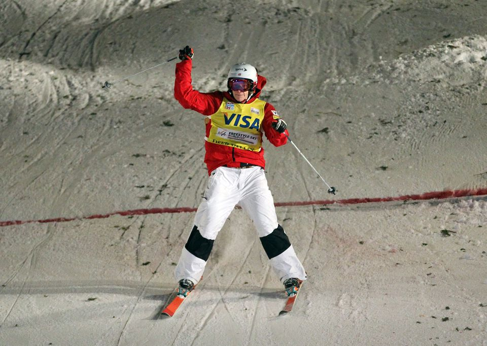 """Moguls gold medalist Hannah Kearney doesn't have as high a profile or as profitable a portfolio as the marquee Olympians. She says she must live """"as frugally as possible"""" when home in Vermont."""