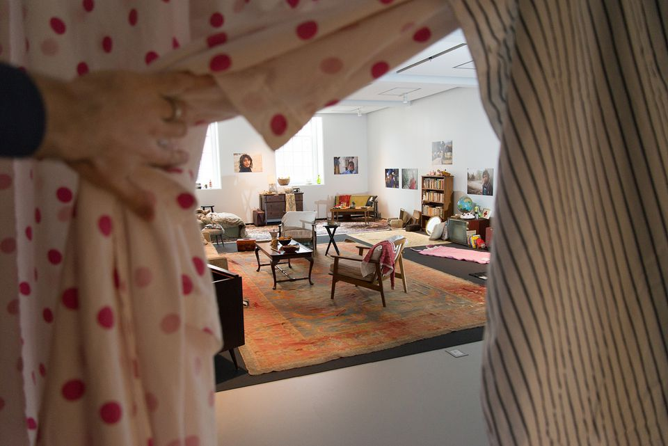 """Valérie Massadian's installation """"Little People and Other Things"""" at Harvard University."""