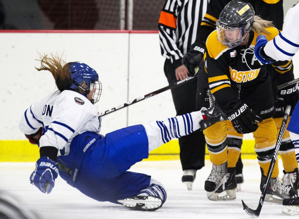 The Boston Blades belong to the Canadian Women's Hockey League. Launched in 2010, the team will play at the Clark Athletic Center Rink at UMass Boston. Average attendance for last season's games at the team's previous home, Lawler Rink in North Andover, was 250.