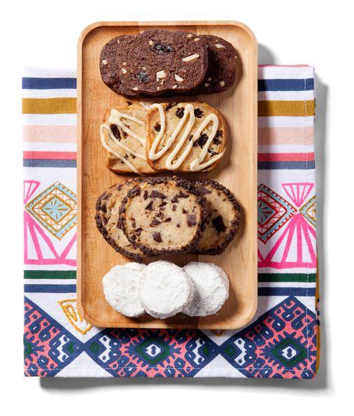 56 Slice And Bake Cookies For Easy Christmas Baking: Easy Slice-and-bake Cookie Recipes For Busy Holidays
