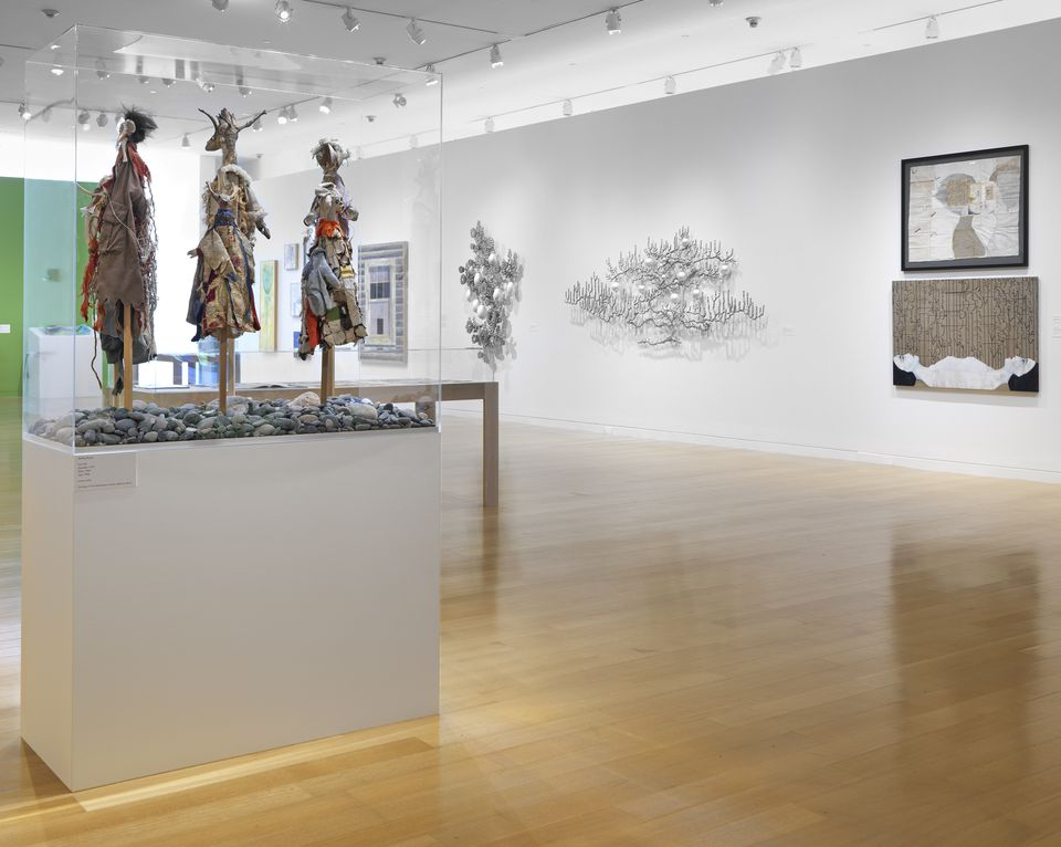 Artists from all six New England states are represented at the deCordova's show.