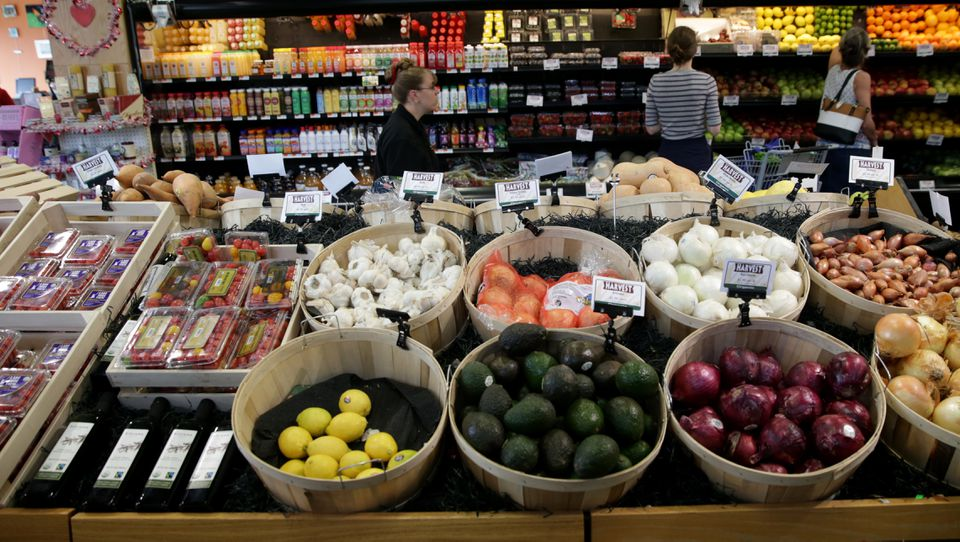 The Harvest market in Jamaica Plain is one of the co-op's two stores.