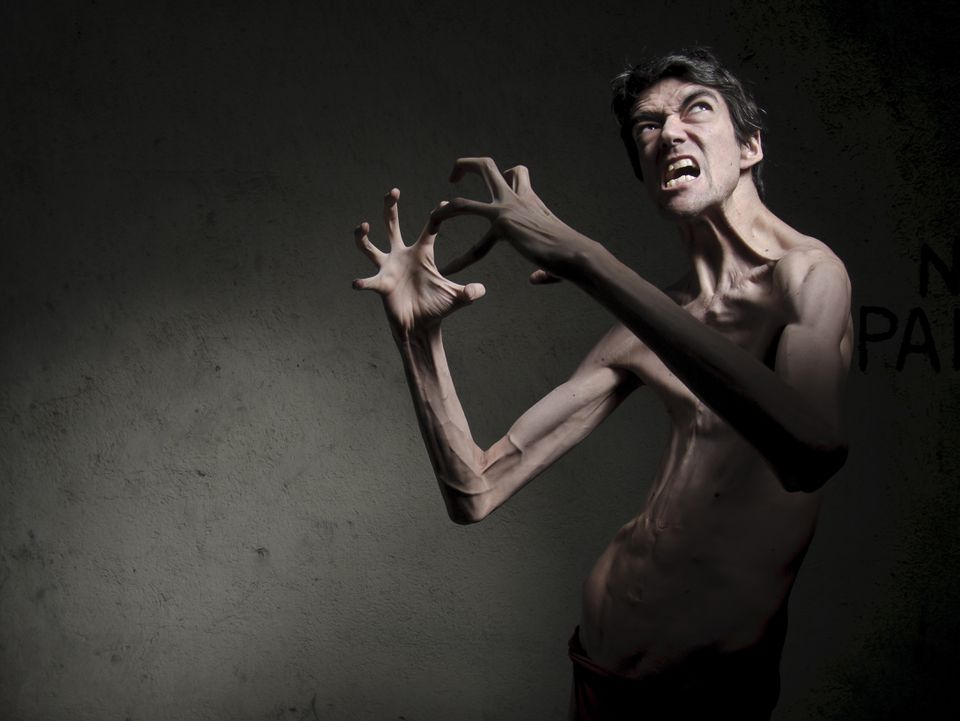 """Javier Botet has had roles as monsters in horror movies such as """"Crimson Peak"""" and """"The Conjuring 2."""""""