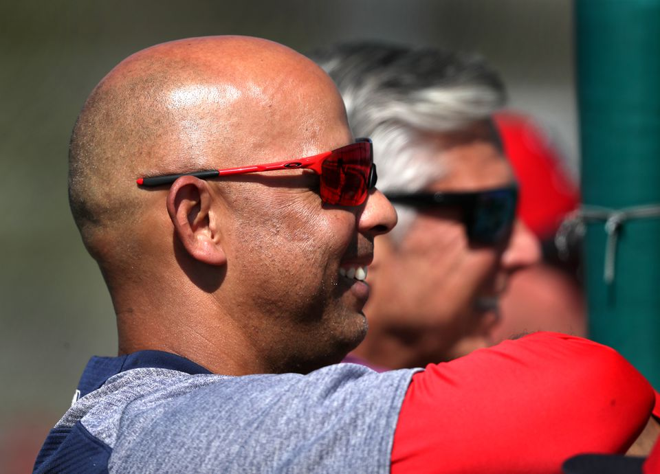 """Red Sox manager Alex Cora said pitcher Darwinzon Hernandez would have to """"shock the world"""" to make the big league roster."""