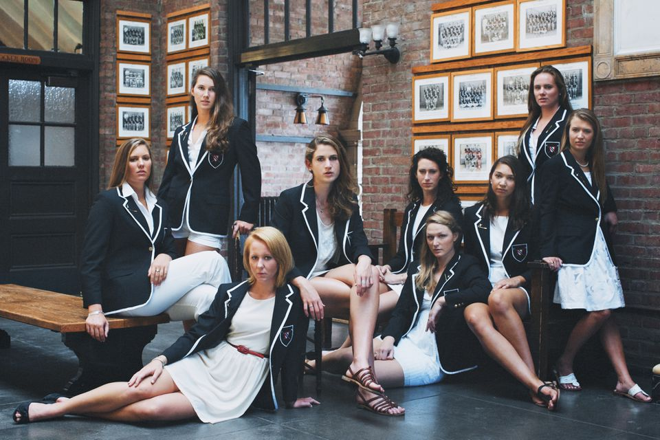 """""""Rowing Blazers"""" examines the jackets' ties to sport and to fashion."""