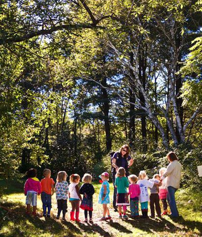 Why Young Kids Learn Through Movement >> Into The Woods The Boston Globe