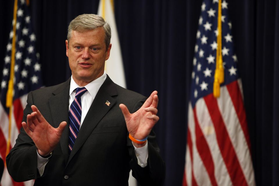 Governor Charlie Baker  has the highest popularity rating of any governor in the United States.