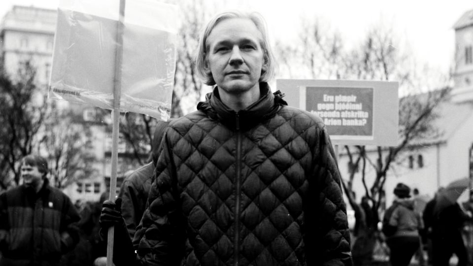 """Although Julian Assange is not interviewed, he is still at the heart of """"We Steal Secrets."""""""