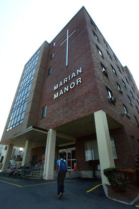 The sprawling, seven-building Marian Manor complex, built on the former Carney Hospital campus in the 1950s, is now more than a half-century old.