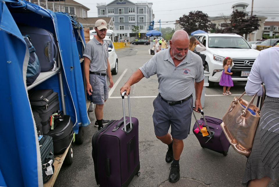 "Tony Rossi, a former nightclub owner, says he sees the stress on travelers returning from the islands. ""I wish they were as stress-free as I am,"" he said."