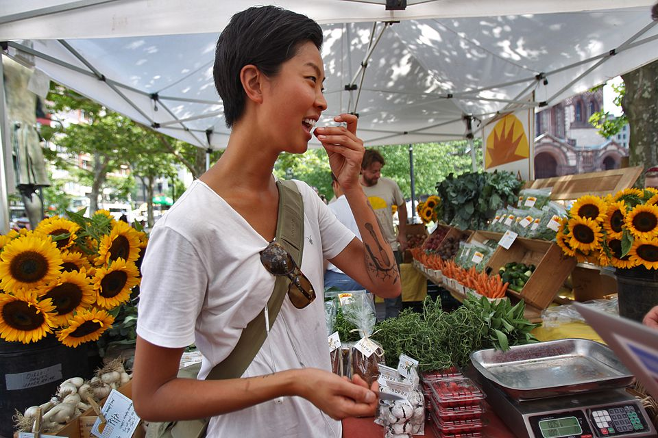 """""""Top Chef"""" winner Kristen Kish is now running the kitchen at Menton, one of Boston's top-rated restaurants."""
