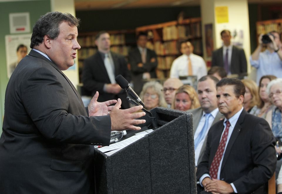 Governor Chris Christie of New Jersey is known for his sometimes abrasive style, occasionally arguing with constituents.