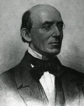Abolitionist William Lloyd Garrison.