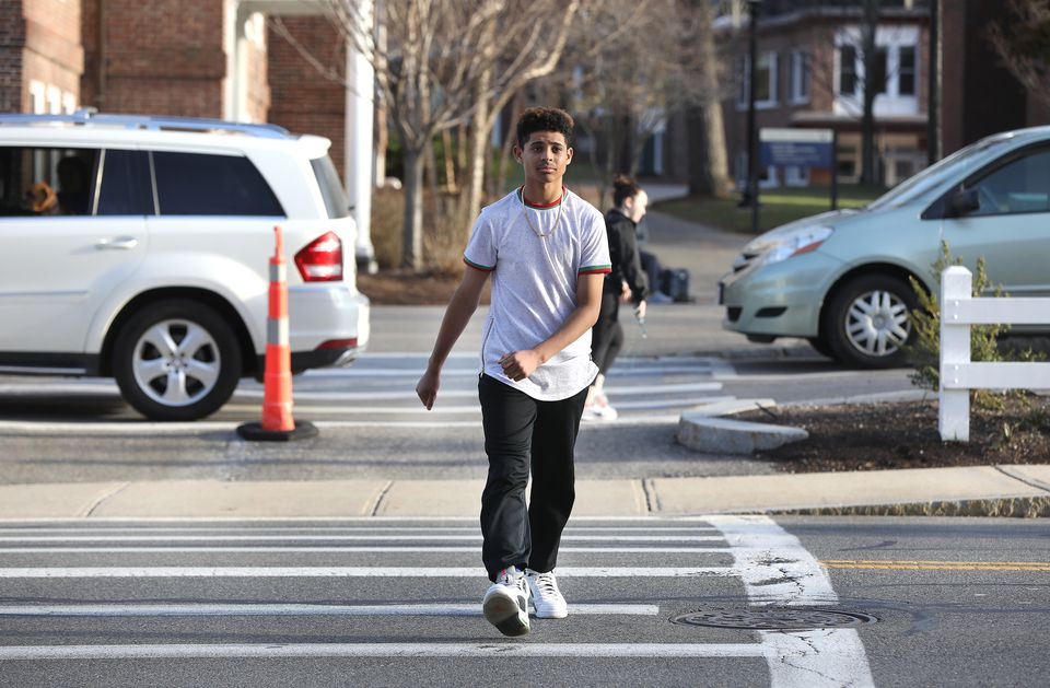 Zaki Alaoui was stunned to find himself the target of an intolerant driver at Milton Academy's campus.