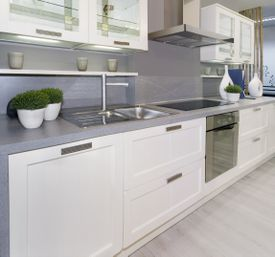 <b>FRESH LOOK </b>: When replacing kitchen cabinets, choosing ones with clean lines can up your home's resale value.