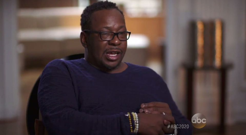 "Bobby Brown appeared in a ""20/20"" interview to promote his new book."