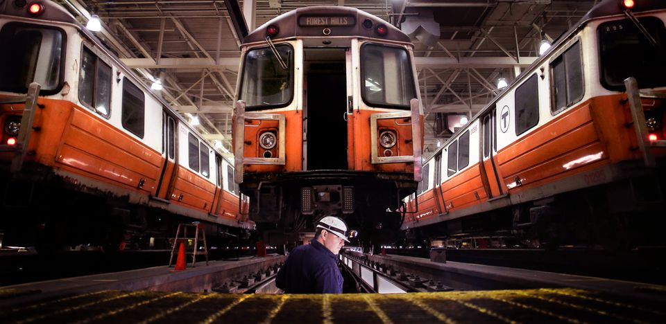 The T has had hiccups recently with big projects, including the slow introduction of new Orange Line trains.