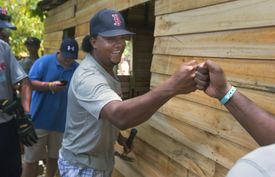 Pedro Martinez has built a thriving foundation in his native Dominican Republic.