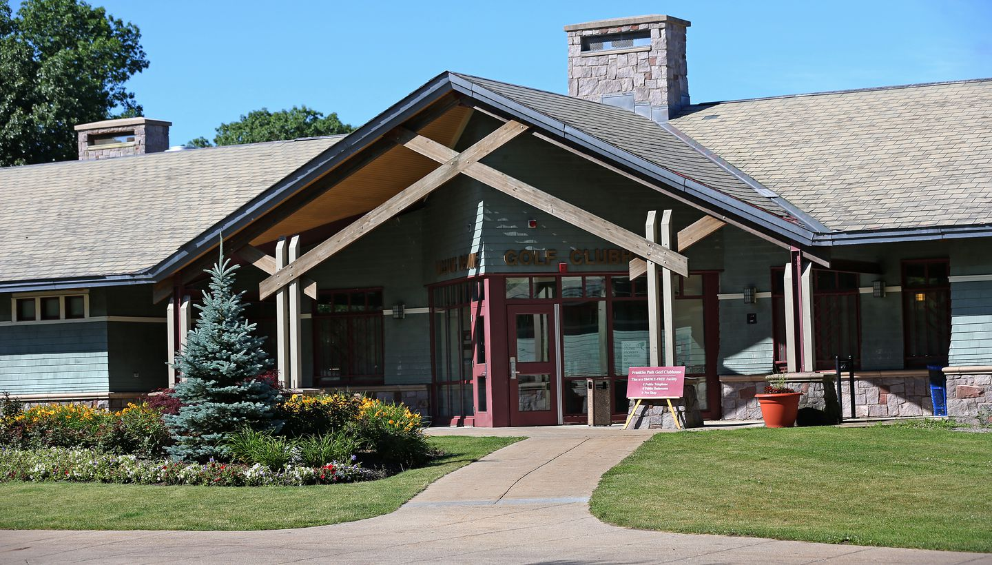 The clubhouse at Franklin Park.