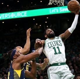 Kyrie Irving didn't singlehandedly win it for the Celtics, but he scored a game-high 37 points.