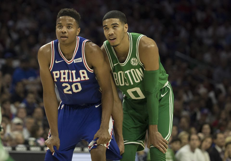 67bad8535d3 Markelle Fultz and Jayson Tatum were selected at the top of the 2017 NBA  Draft.
