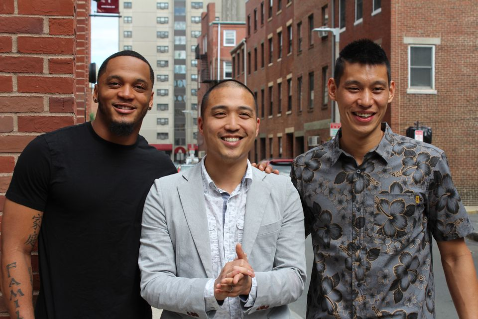 From left: Patrick Chung, Giles Li, and Jeremy Lin.