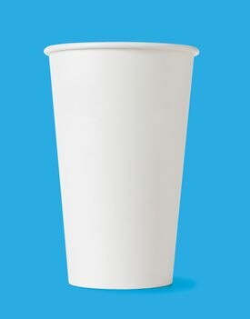 Paper cups get recycled.