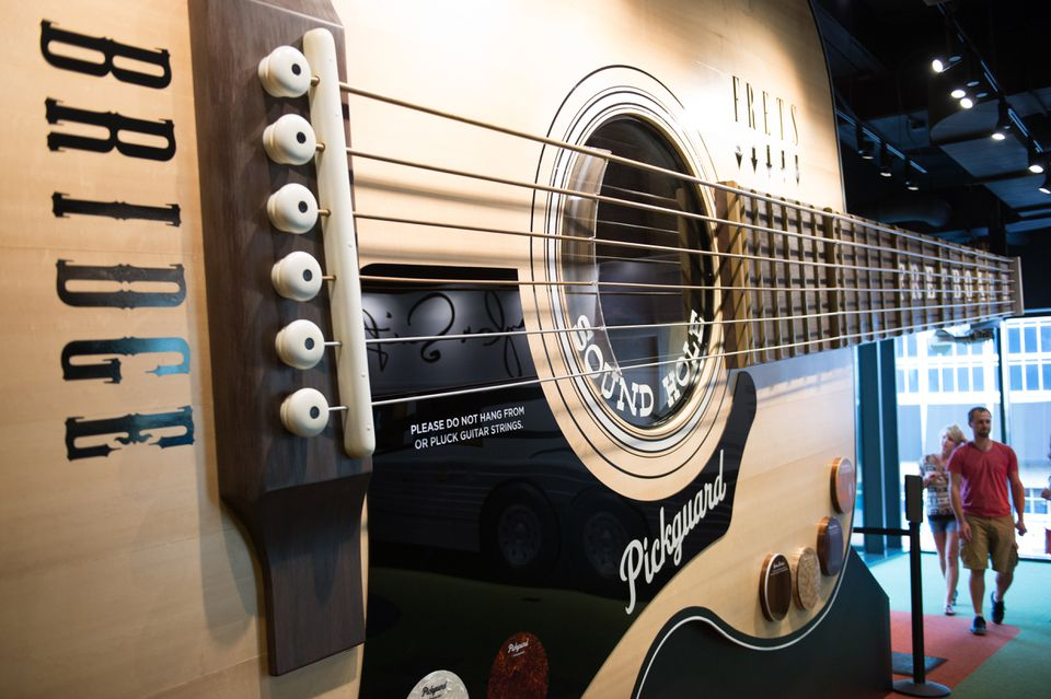 The Country Music Hall of Fame and Museum.