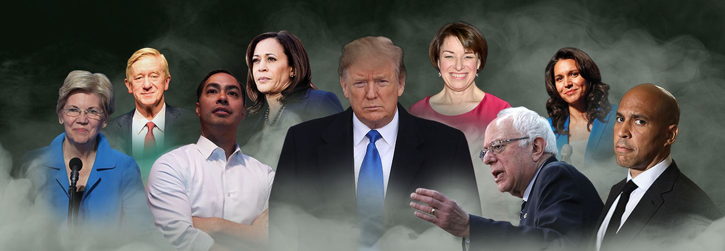 All 2020 presidential candidates now support marijuana legalization