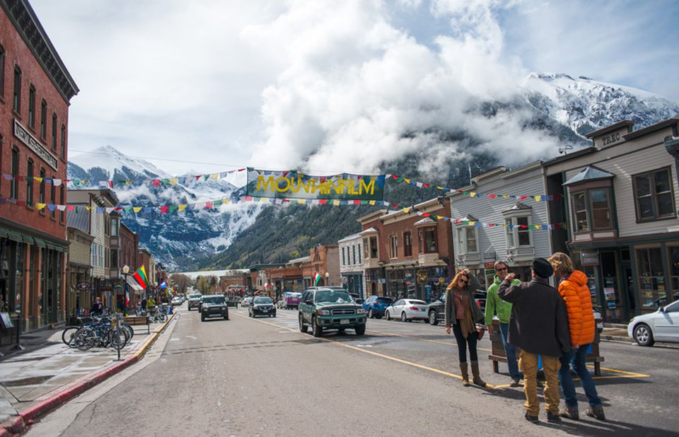 Spring rolls into Telluride, Colo., by Memorial Day, in time for MountainFilm,