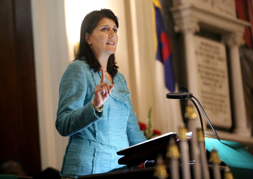 "Governor Nikki Haley of South Carolina has said the Charleston shooting suspect ""absolutely"" should be put to death if convicted."