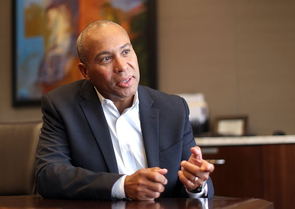 The 2014 case centered on comments Deval Patrick made at the end of his second term as governor.