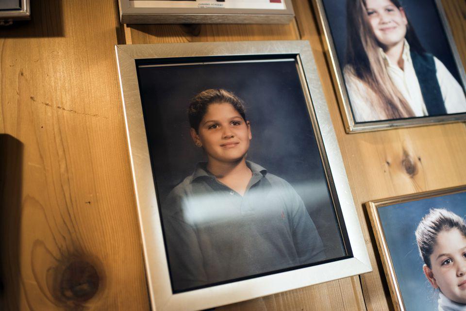 A family photo of Tamara.