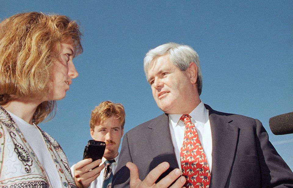 If Bush had beaten Clinton in 1992, his second term would likely have been a long intraparty battle with the ambitious Newt Gingrich. Instead, Clinton became Gingrich's chief target.
