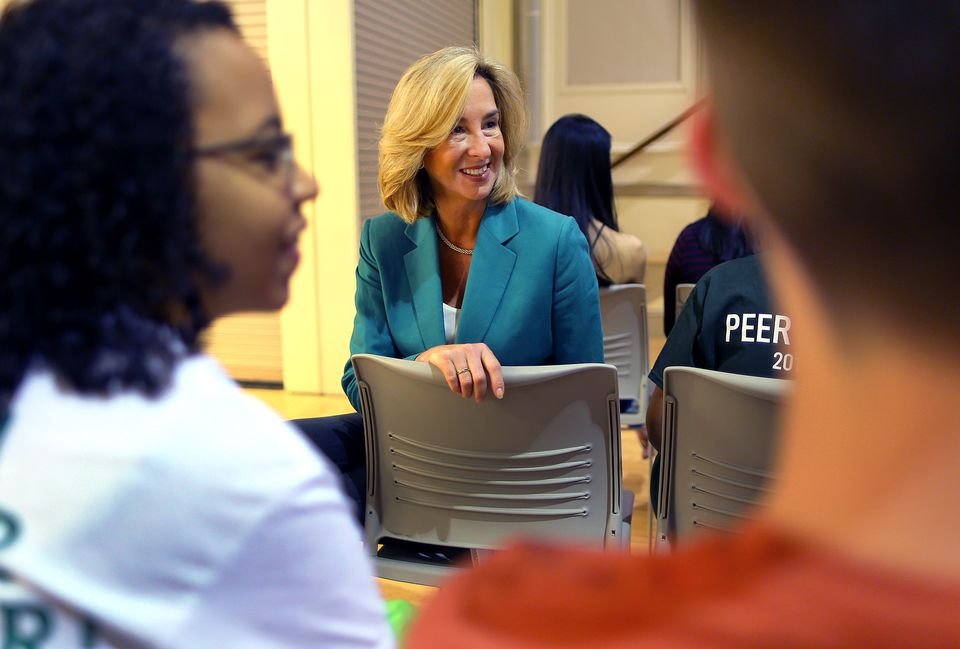 Since Kerry Healey became its president, Babson College has been ranked at or near the top of Money magazine's rankings of colleges in the country.