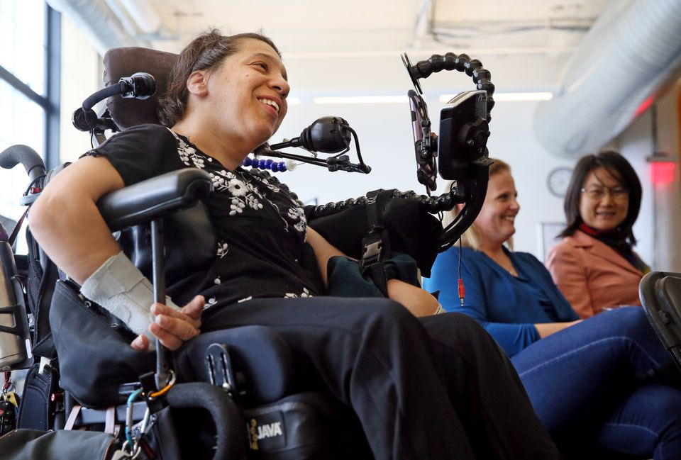 Speaking at a HUBweek panel, Puffin Innovations CEO Adriana Mallozzi said disability has forced her to be innovative in her daily routines and tasks.