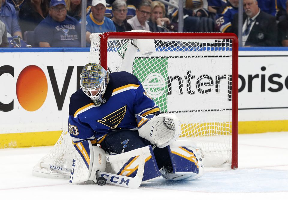 Blues goalie Jordan Binnington was drafted by the team in the third round of the 2011 NHL Draft.