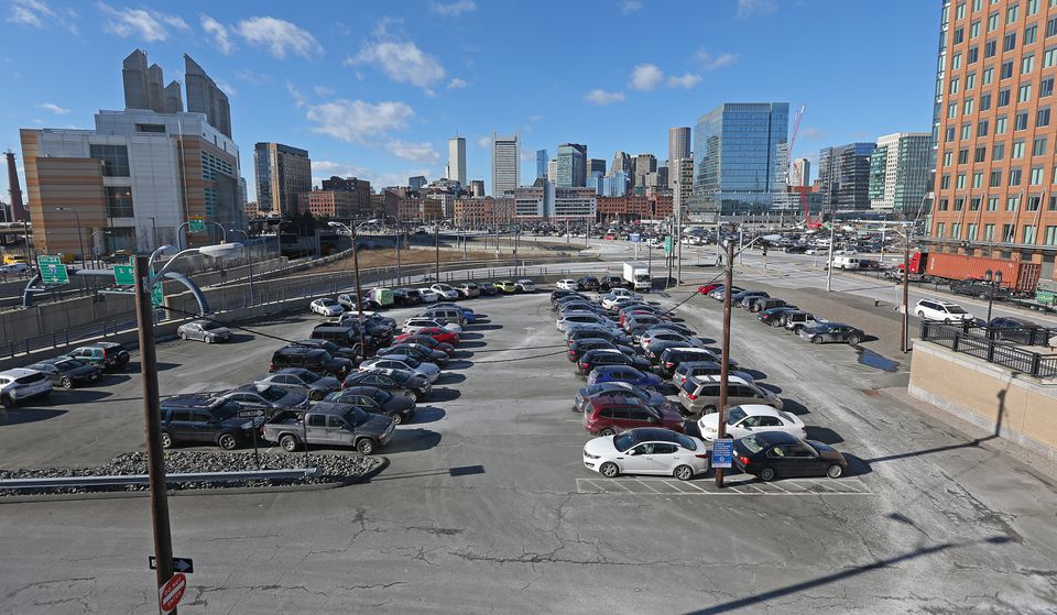 Among the potential sites for the GE headquarters is Massport land near the World Trade Center.