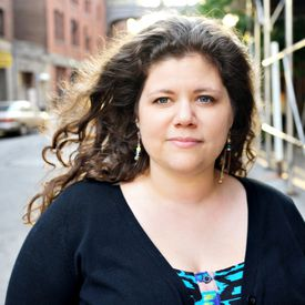 Rainbow Rowell's writing appeals to grown-ups and young adults.