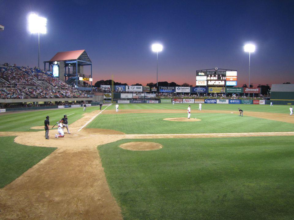 McCoy Stadium in Pawtucket, R.I.