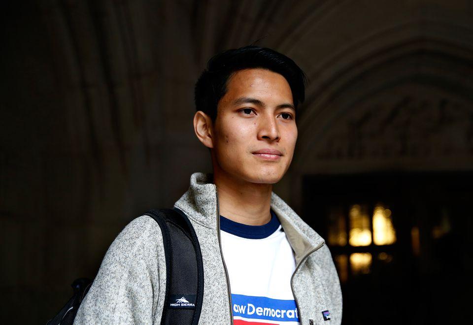 Matt Nguyen, a law student at Yale.
