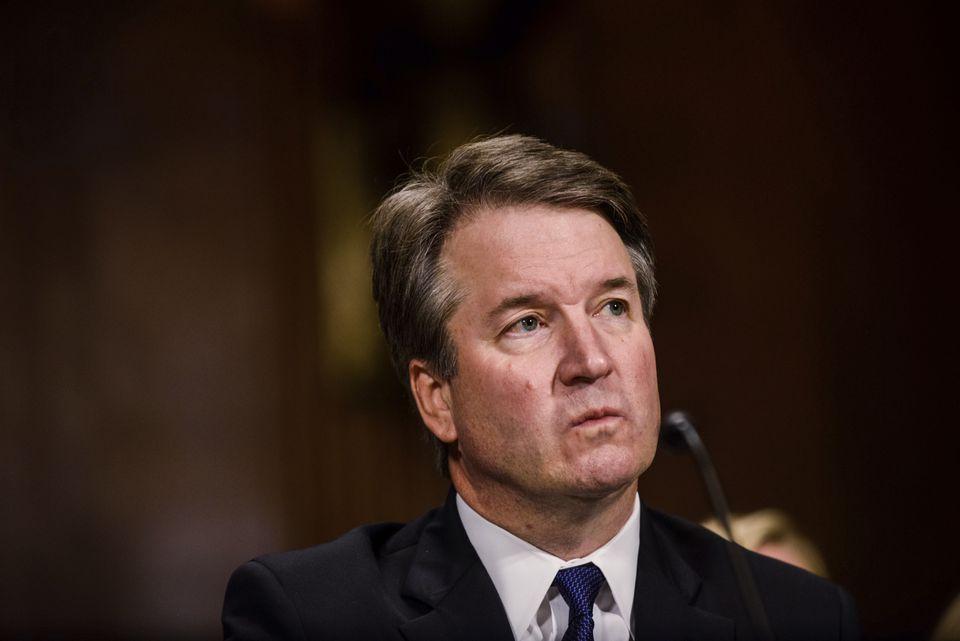 Supreme Court nominee Brett Kavanaugh testifies before the Senate Judiciary Committee.