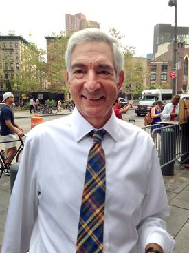 Judge Richard M. Berman enters federal court in New York Sept. 3.