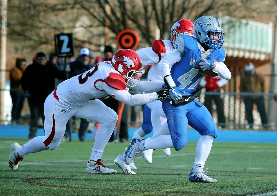 Braintree's Billy Silva dragged Milton defenders around all day in Thursday's win.
