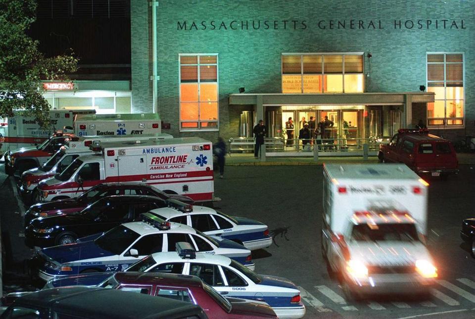 Massachusetts General Hospital in Boston.