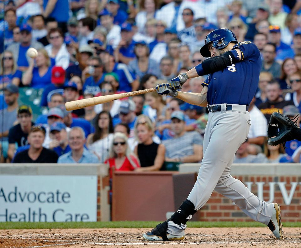 Ryan Braun hit 30 homers and 91 RBIs in 2016.